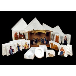 COMPLETE NATIVITY SCENE - 17 MOULDS