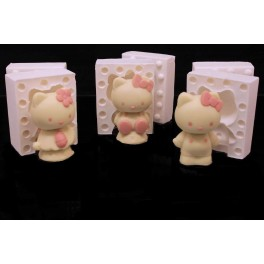KIT 3 HELLO KITTY PICCOLE